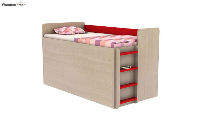 Canary Bunk Bed (Cardinal Red)-10