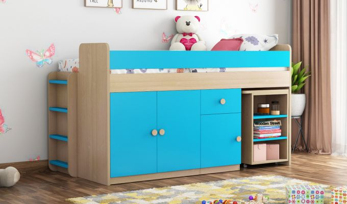 Canary Bunk Bed (Celestial Blue)-1