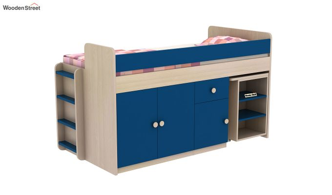 Canary Bunk Bed (Electric Blue)-3