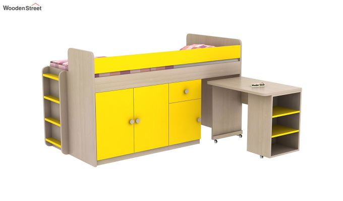 Canary Bunk Bed (Marigold Yellow)-6