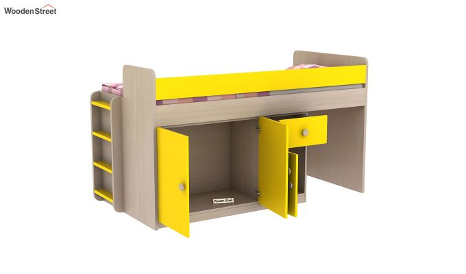 Canary Bunk Bed (Marigold Yellow)-11