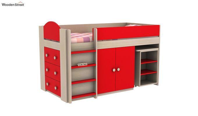 Crissa Bunk Bed (Cardinal Red)-3