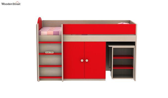 Crissa Bunk Bed (Cardinal Red)-5