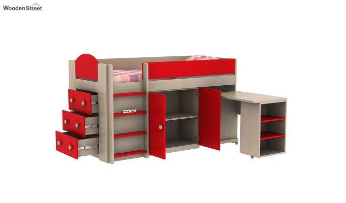 Crissa Bunk Bed (Cardinal Red)-6