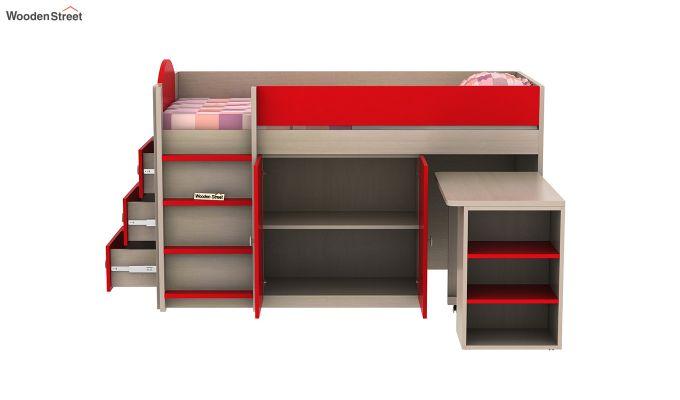 Crissa Bunk Bed (Cardinal Red)-7