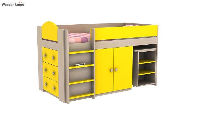 Crissa Bunk Bed (Marigold Yellow)-3