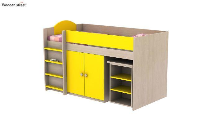 Crissa Bunk Bed (Marigold Yellow)-4