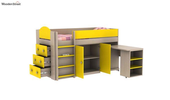 Crissa Bunk Bed (Marigold Yellow)-6