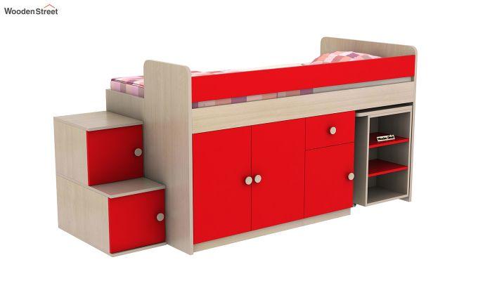Grace Bunk Bed (Cardinal Red)-3
