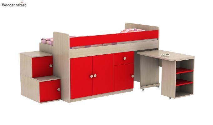 Grace Bunk Bed (Cardinal Red)-5