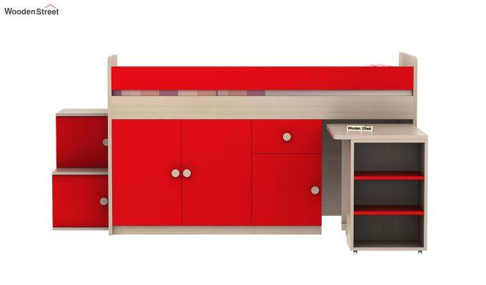 Grace Bunk Bed (Cardinal Red)-6