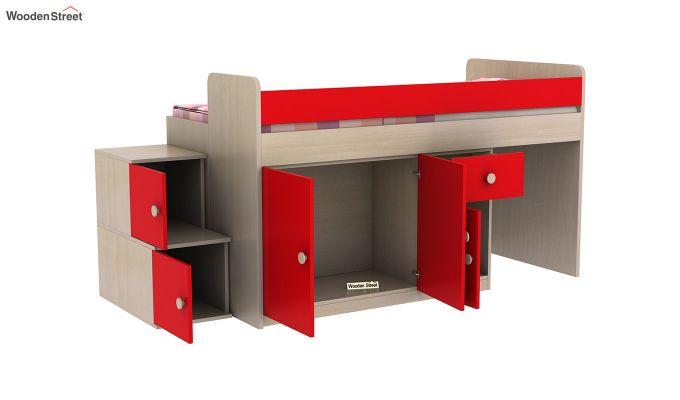 Grace Bunk Bed (Cardinal Red)-7