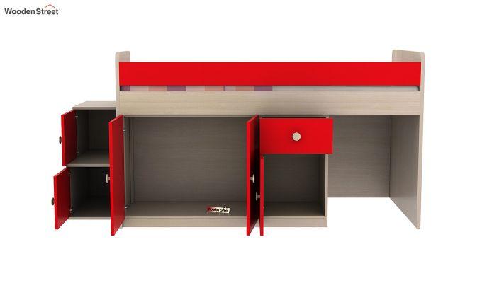Grace Bunk Bed (Cardinal Red)-8