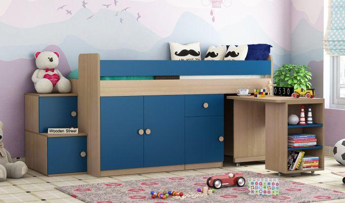 Grace Bunk Bed (Electric Blue)-2