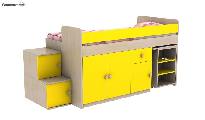 Grace Bunk Bed (Marigold Yellow)-3