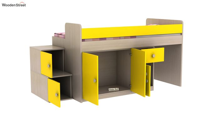 Grace Bunk Bed (Marigold Yellow)-7