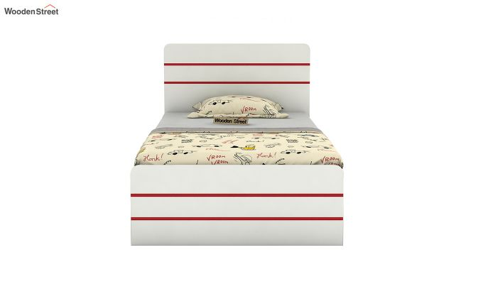 Honeydew Kids Bed With Storage (Cardinal Red)-3