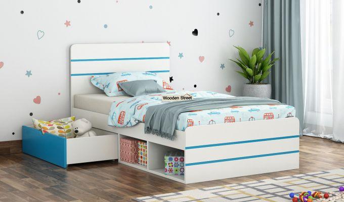 Honeydew Kids Bed With Storage (Celestial Blue)-1
