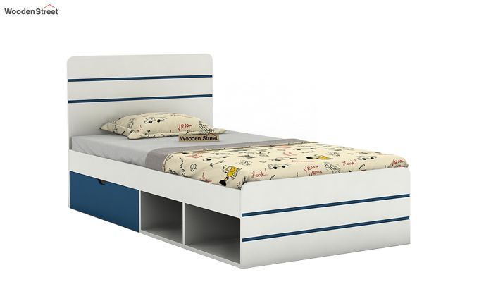 Honeydew Kids Bed With Storage (Electric Blue)-2