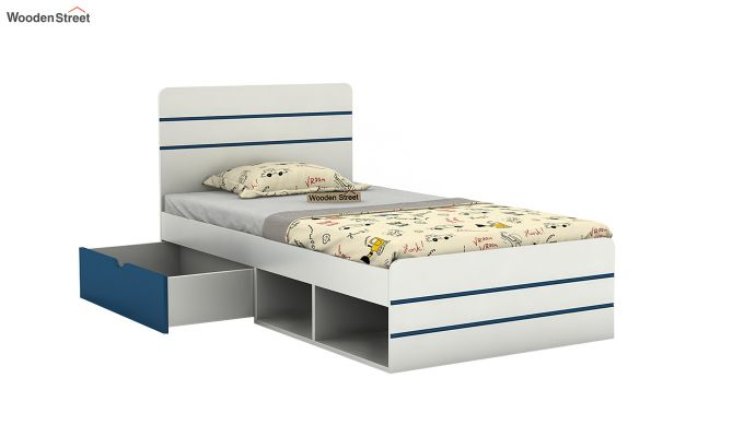 Honeydew Kids Bed With Storage (Electric Blue)-4