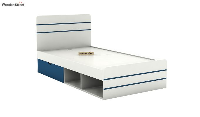 Honeydew Kids Bed With Storage (Electric Blue)-5