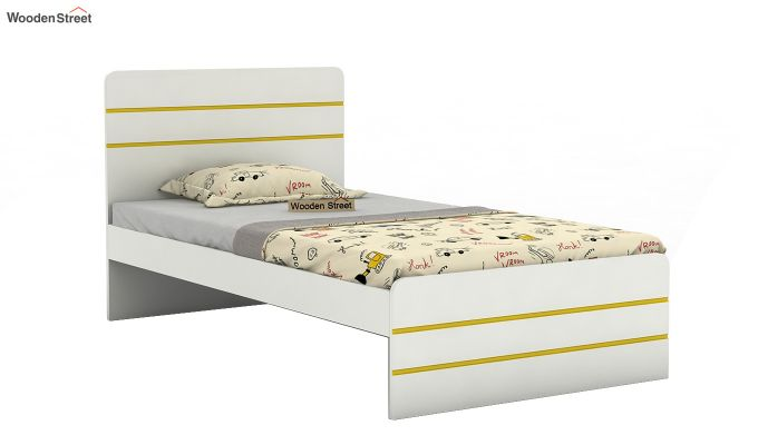 Honeydew Kids Bed Without Storage (Marigold Yellow)-2