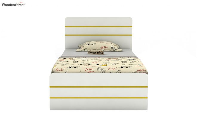 Honeydew Kids Bed Without Storage (Marigold Yellow)-3
