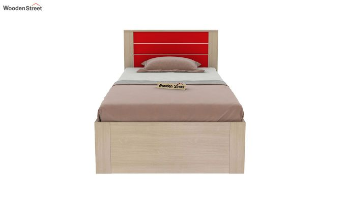 Marina Kids Bed With Storage (Cardinal Red)-3