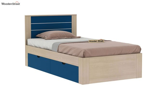 Marina Kids Bed With Storage (Electric Blue)-2