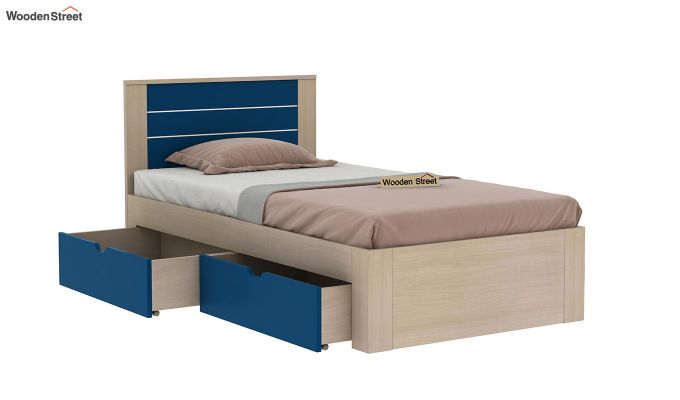 Marina Kids Bed With Storage (Electric Blue)-4