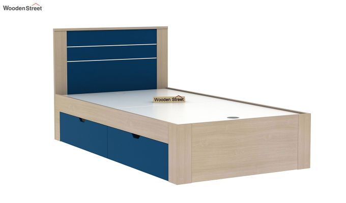Marina Kids Bed With Storage (Electric Blue)-5