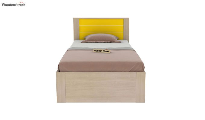 Marina Kids Bed With Storage (Marigold Yellow)-3