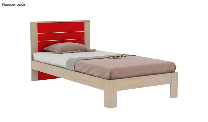 Marina Kids Bed Without Storage (Cardinal Red)-4