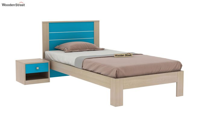 Marina Kids Bed Without Storage (Celestial Blue)-2