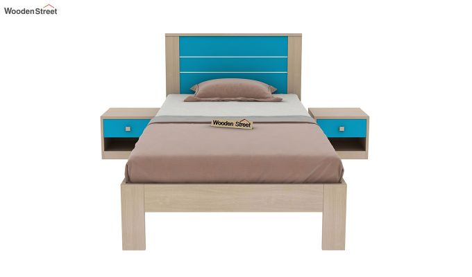 Marina Kids Bed Without Storage (Celestial Blue)-3