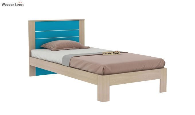 Marina Kids Bed Without Storage (Celestial Blue)-4