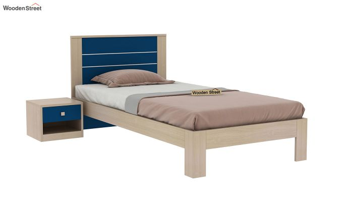 Marina Kids Bed Without Storage (Electric Blue)-2