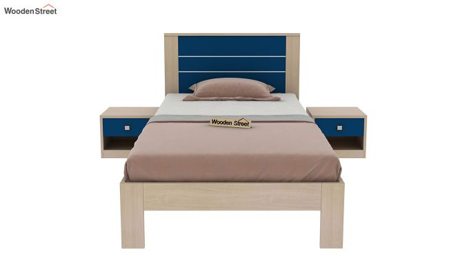 Marina Kids Bed Without Storage (Electric Blue)-3