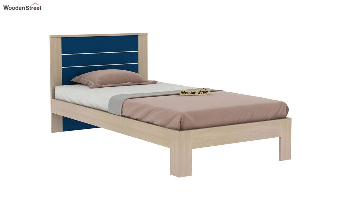 Marina Kids Bed Without Storage (Electric Blue)-4