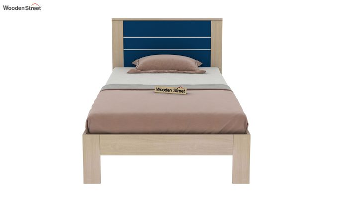 Marina Kids Bed Without Storage (Electric Blue)-5