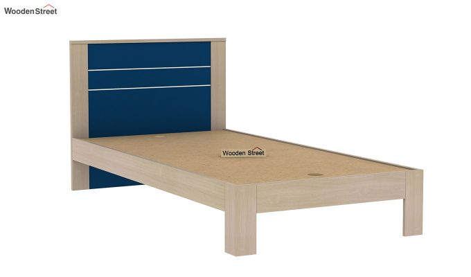 Marina Kids Bed Without Storage (Electric Blue)-6