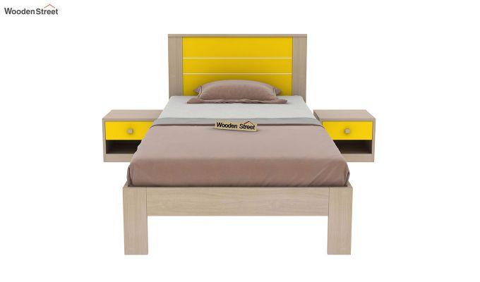 Marina Kids Bed Without Storage (Marigold Yellow)-3