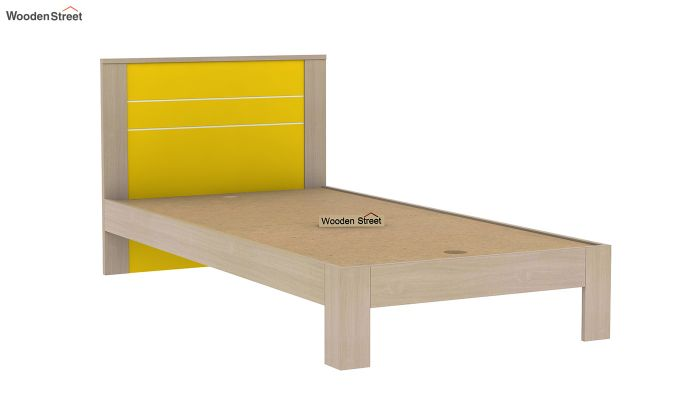 Marina Kids Bed Without Storage (Marigold Yellow)-6