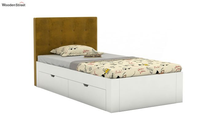 Wagner Kids Bed With Storage (Chestnut Brown)-2