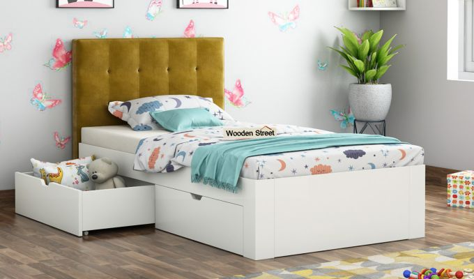 Wagner Kids Bed With Storage (Chestnut Brown)-1