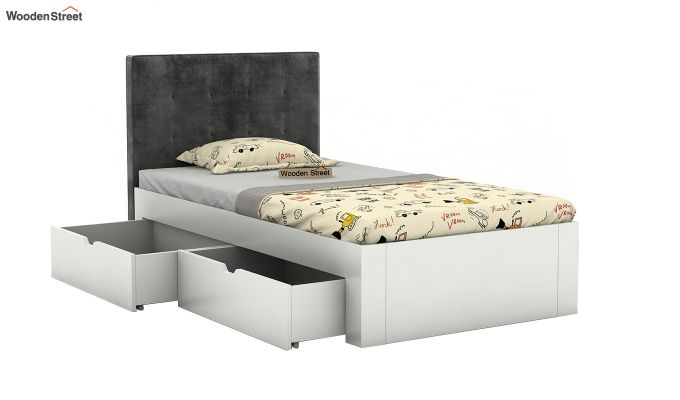 Wagner Kids Bed With Storage (Graphite Grey)-4