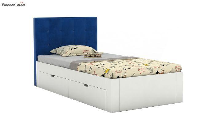 Wagner Kids Bed With Storage (Indigo Blue)-2