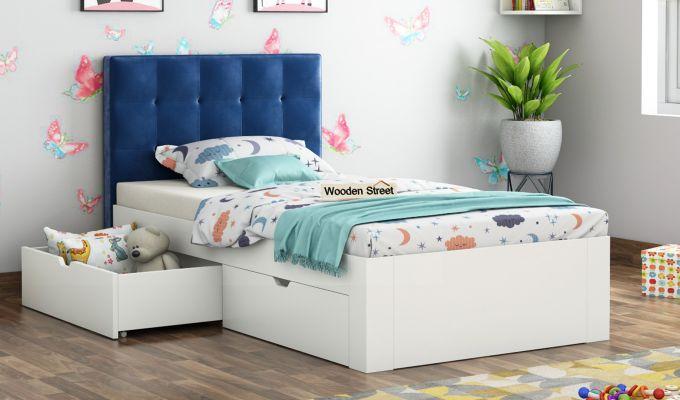 Wagner Kids Bed With Storage (Indigo Blue)-1