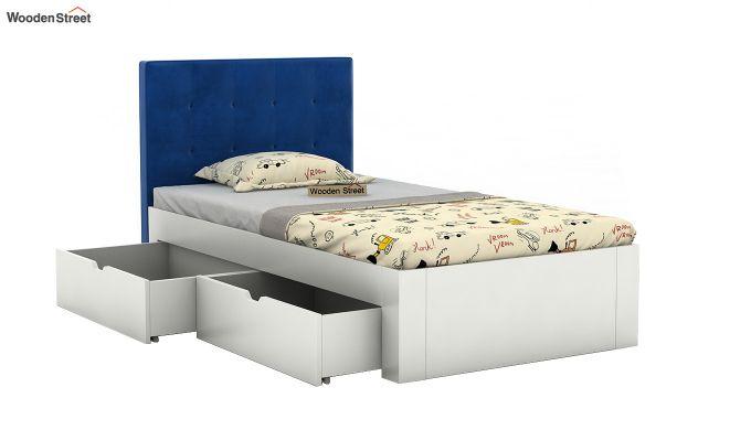 Wagner Kids Bed With Storage (Indigo Blue)-4
