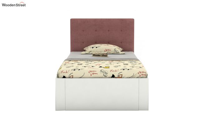 Wagner Kids Bed With Storage (Salmon Pink)-3